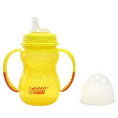 """Поильник-непроливайка Lubby """"Классика"""" с мягким носиком"""