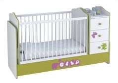 Кроватка детская Polini kids Basic Elly с комодом