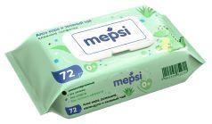 Детские влажные салфетки Mepsi, 72шт.