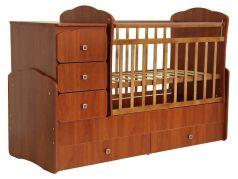 """Кровать детская """"Фея"""" 2100, орех"""