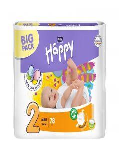 Bella (Белла) Подгузники Baby Happy Mini (3-6 кг) 78 шт.