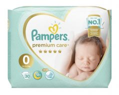 Подгузники Pampers Premium Care Newborn (1,5-2,5 кг), 30шт.