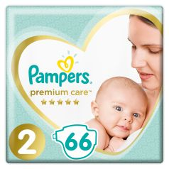 Подгузники Pampers Premium Care Mini (4-8 кг), 66шт.