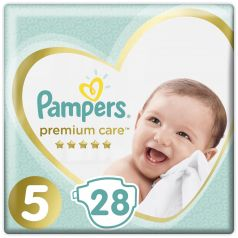 Подгузники Pampers Premium Care Junior (11+ кг), 28шт.