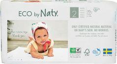 Подгузники Naty 2, 3-6кг, 33шт.