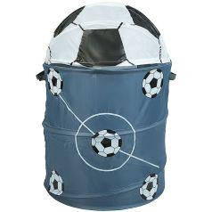 "Корзина для хранения игрушек Bondibon ""Футбол"", 45х70см"