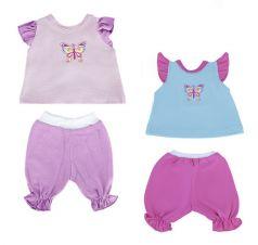 "Одежда для куклы 38-43см Mary Poppins ""Бабочка"": кофточка и брючки (в ассорт.)"