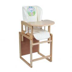 "Стол-стул для кормления Альма-Няня ""Феникс"" Морковная душа"