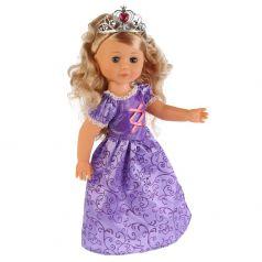 """Кукла """"Карапуз"""" Принцесса София в фиолетовом платье, 46см"""