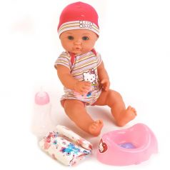 "Интерактивная кукла ""Карапуз"" Пупс Hello Kitty, 40см, с аксессуарами"