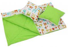 """Набор Polini Kids для вигвама """"Жираф"""": одеяло и подушки"""