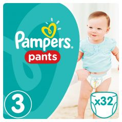 Подгузники-трусики Pampers Pants Midi 3 (6-11кг), 32шт.