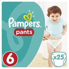Подгузники-трусики Pampers Pants Extra Large 6 (15+ кг), 25шт.