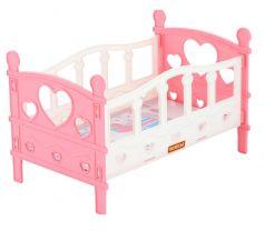 Кроватка для кукол Полесье №2 из 5 элементов