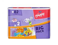 Подгузники Bella Baby Happy Mini 2 (3-6кг), 82шт.