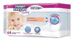 Детские влажные салфетки Helen Harper, 64шт.