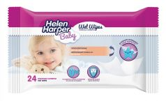 Детские влажные салфетки Helen Harper, 24шт.