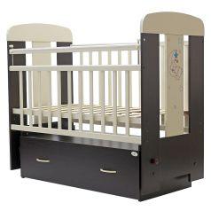 """Кровать детская Топотушки """"Верона"""", с ящиком, венге/слоновая кость"""