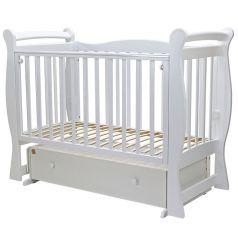 """Кровать детская Топотушки """"Валенсия-6"""" с ящиком, белая"""