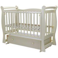 """Кровать детская Топотушки """"Валенсия-6"""" с ящиком, слоновая кость"""