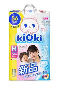 Подгузники-трусики KIOKI M (6-11 кг), 56шт.