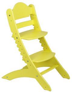 Растущий стул «Два кота» М1, желтый