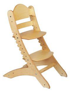 Растущий стул «Два кота» М1, береза