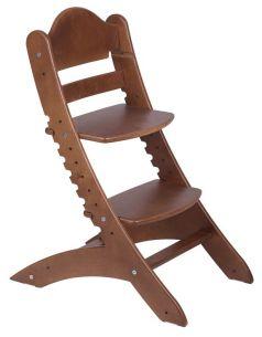 Растущий стул «Два кота» М1, старинный орех