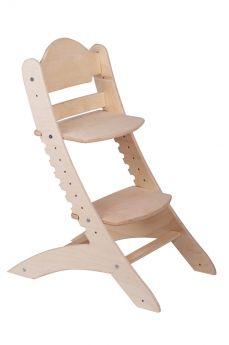 Растущий стул «Два кота» М1, нешлифованный