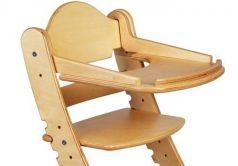 Столик для кормления «Два кота» к стулу М1, береза