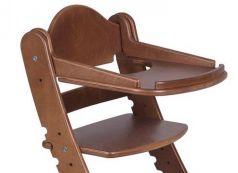 Столик для кормления «Два кота» к стулу М1, старинный орех