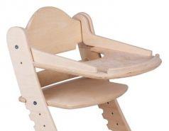 Столик для кормления «Два кота» к стулу М1, нешлифованный