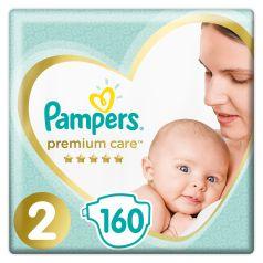 Подгузники Pampers Premium Care New Baby (4-8 кг), 160шт.