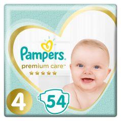 Подгузники Pampers Premium Care Maxi (9-14 кг), 54шт.