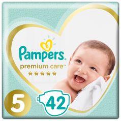 Подгузники Pampers Premium Care Junior (11+ кг), 42шт.