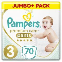 Подгузники-трусики Pampers Premium Care Pants Midi (6-11кг), 70шт.