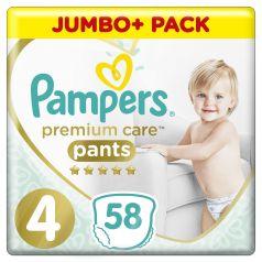 Подгузники-трусики Pampers Premium Care Pants Maxi (9-15), 58шт.