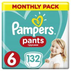Подгузники-трусики Pampers Pants Extra Large (15+ кг), 132шт.