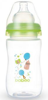 Бутылочка Baboo Baby Shower с силиконовой соской, 230мл