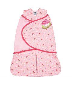 """Спальный конверт Happy Baby Days Angel Enveloper® Swaddle """"Пирожное"""", розовый"""