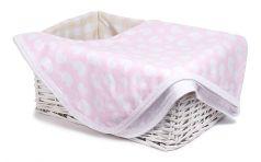 """Плед Sweet Baby Tenero """"Слоник"""", 80x100см, розовый"""