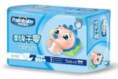 Подгузники детские Palmbaby S, 3-7кг, 72шт.
