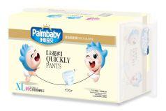 Подгузники-трусики детские Palmbaby XL, 12+ кг, 40шт.