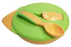 Тарелка Baboo с крышкой и ложкой