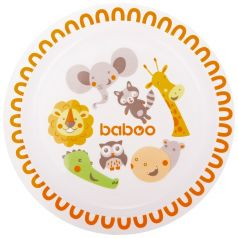 Тарелка Baboo Safari, 6+