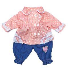 Одежда для куклы 38-43см Mary Poppins: кофточка и штанишки