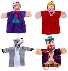 "Кукольный театр Жирафики ""Красная шапочка"", 4 куклы"