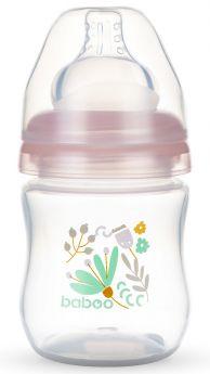 Бутылочка Baboo Flora с силиконовой соской, 130мл
