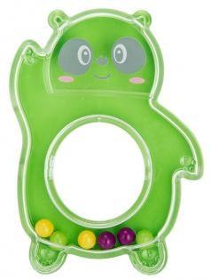 "Погремушка Baboo ""Панда"", 0+, зеленая"