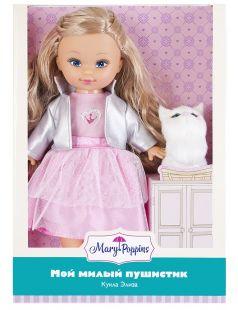"""Игровой набор Mary Poppins """"Мой милый пушистик"""": кукла Эльза и котенок"""